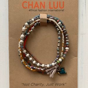 Auth CHAN LUU Mixed Beads Bracelet New